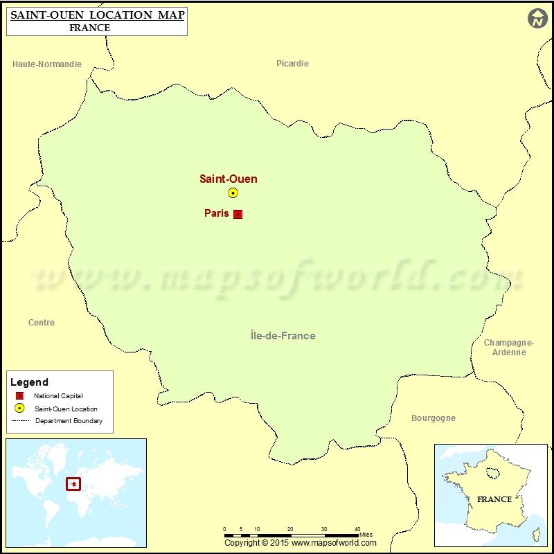 Where is Saint-Ouen