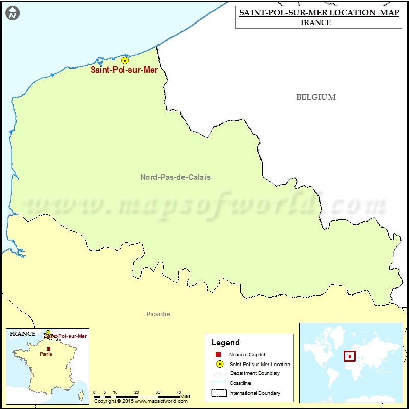 Where is Saint-Pol-sur-Mer