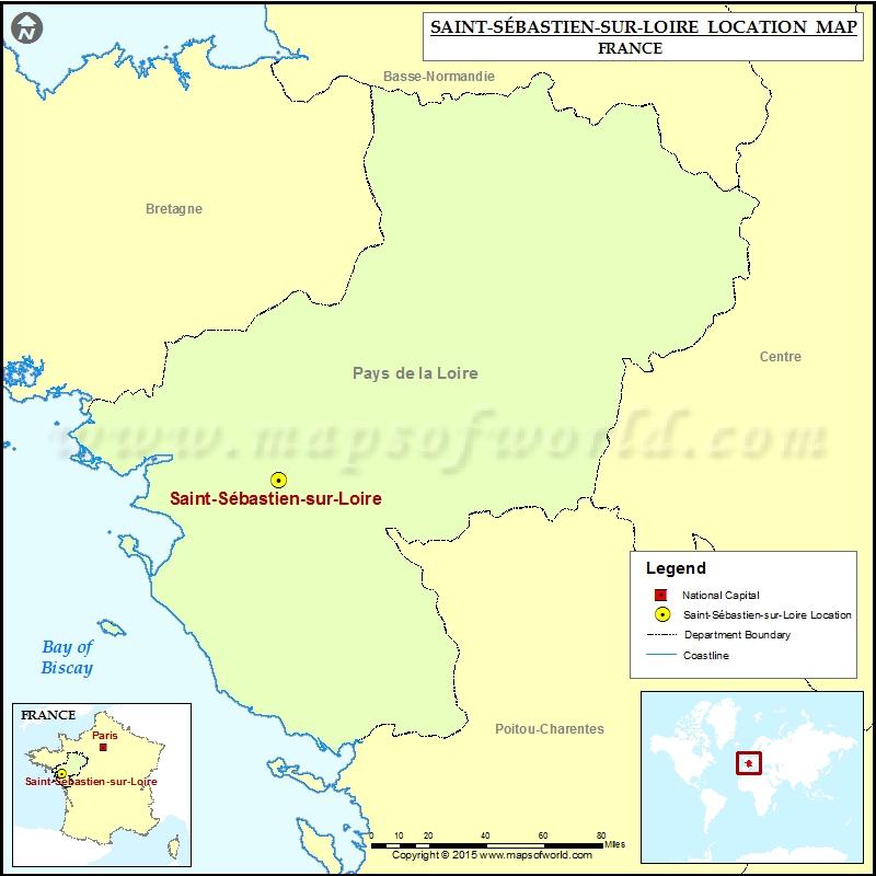 Where is Saint-Sebastien-sur-Loire