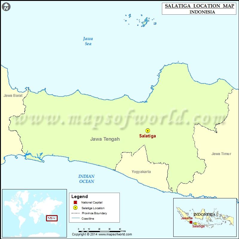 Where is Salatiga