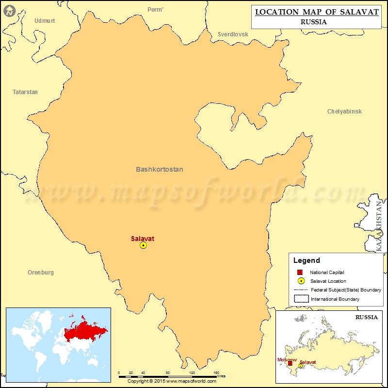 Where is Salavat