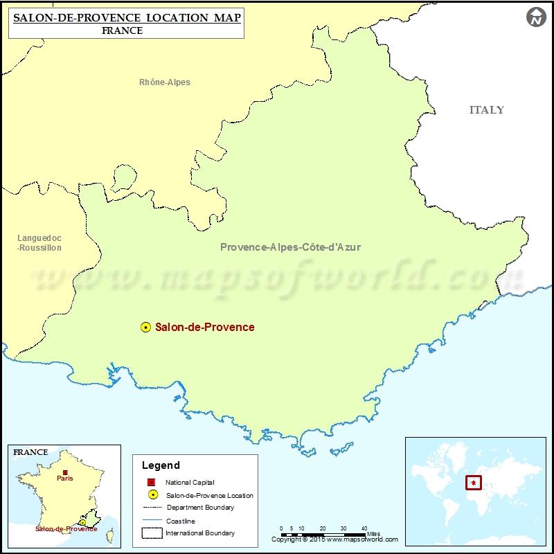 Where is Salon-de-Provence