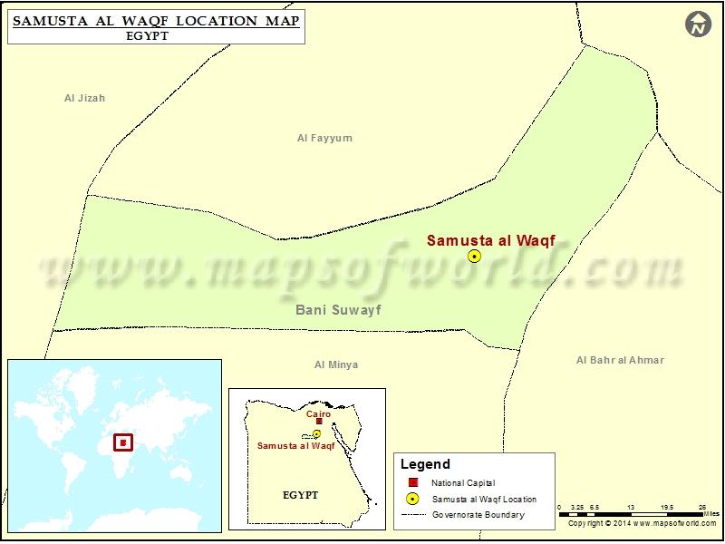 Where is Samusta al Waqf