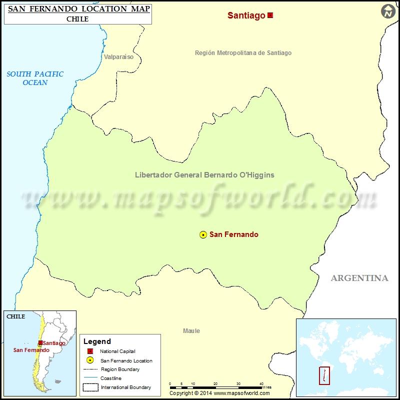 Where is San Fernando