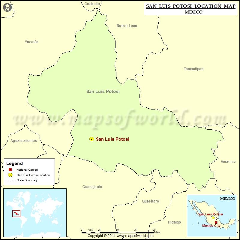 Where is San Luis Potosi