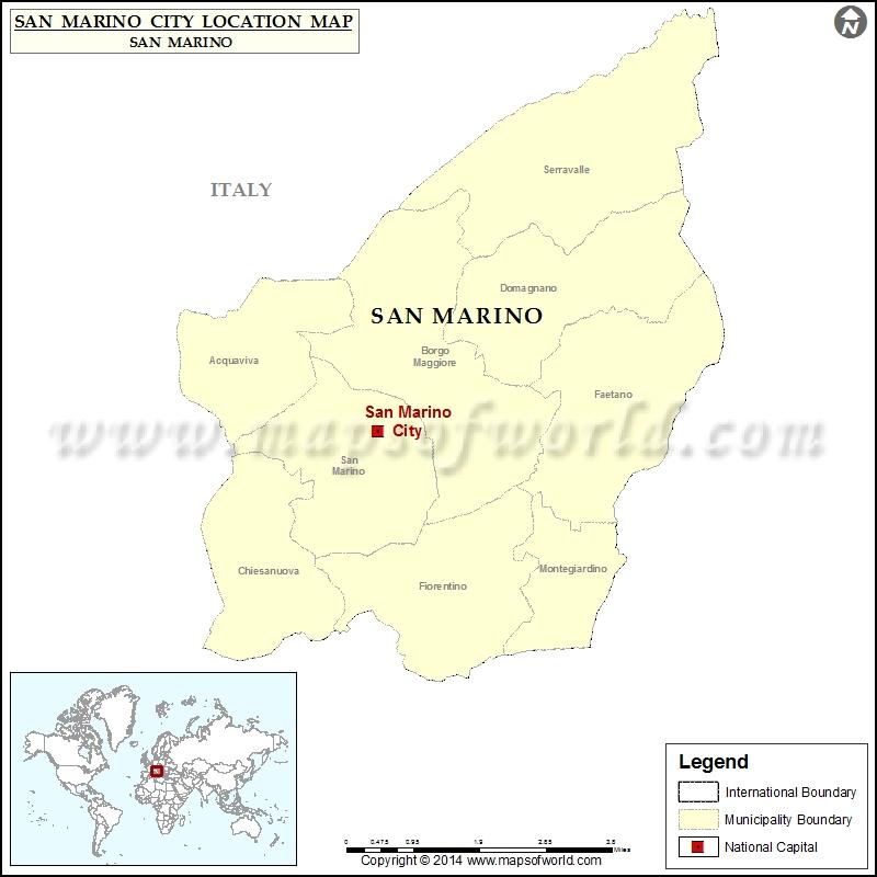 Where is San Marino City