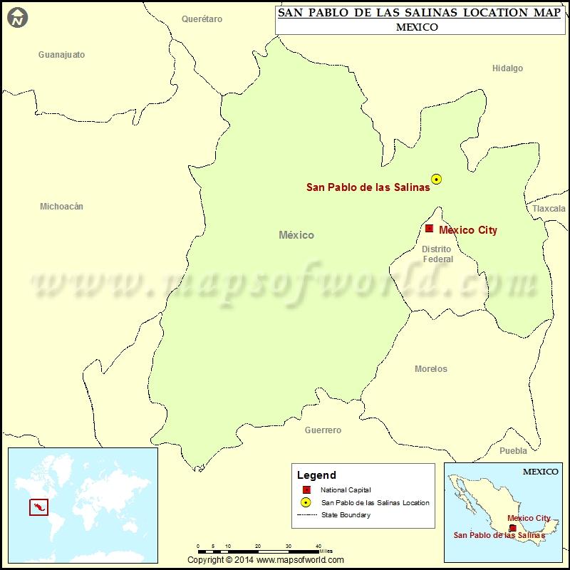 Where is San Pablo de las Salinas