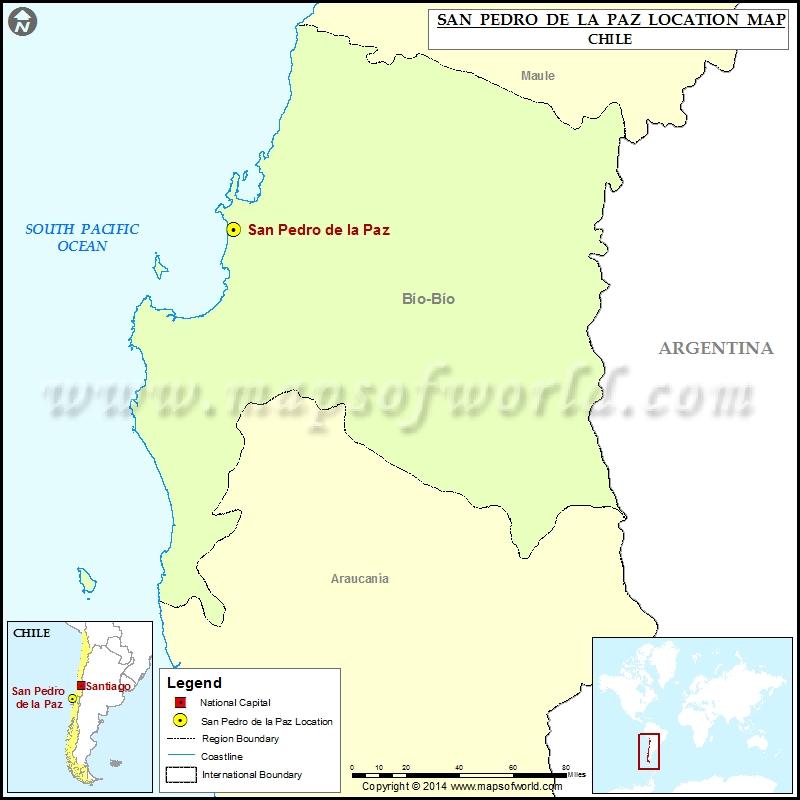 Where is San Pedro de la Paz