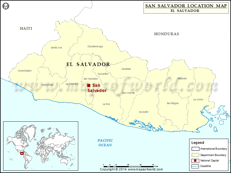 Where is San Salvador