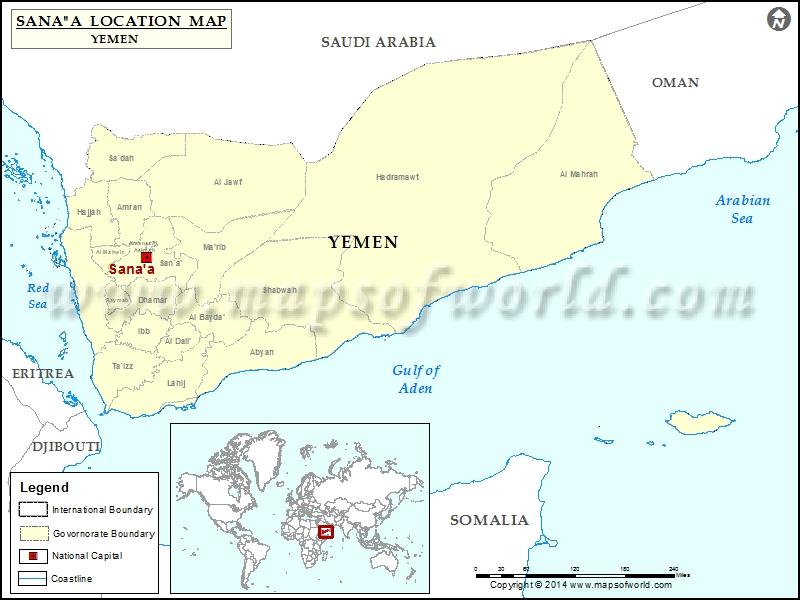 Where is Sanaa