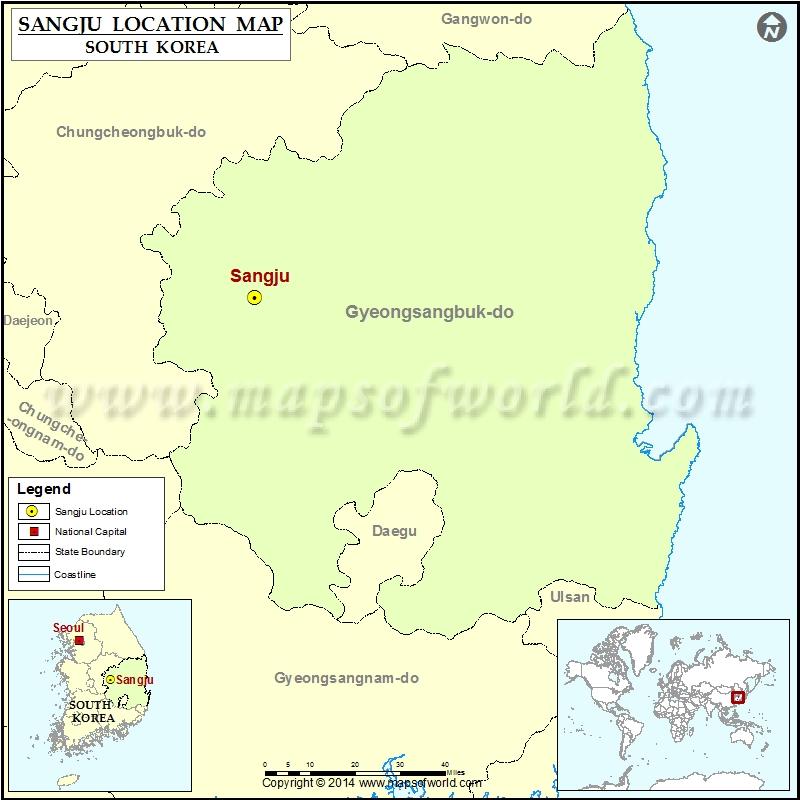 Where is Sangju