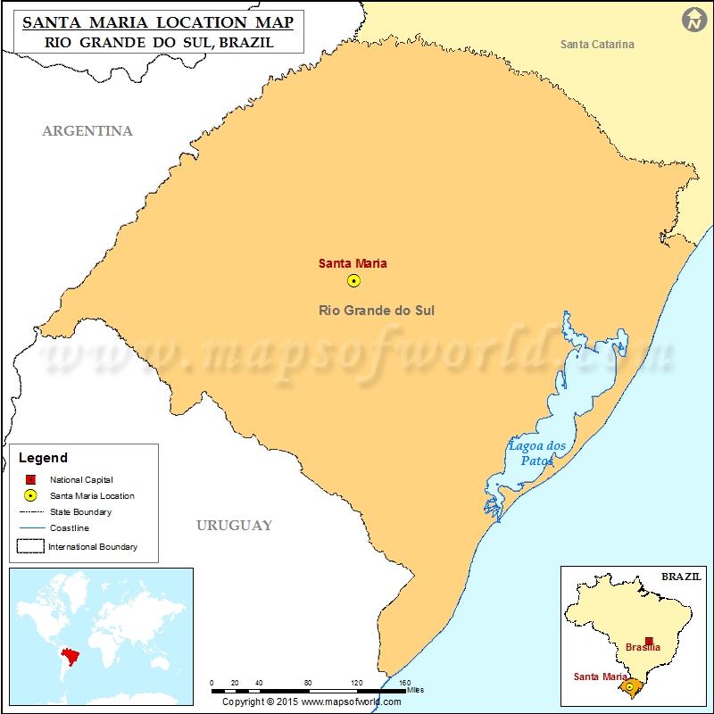 Where is Santa Maria