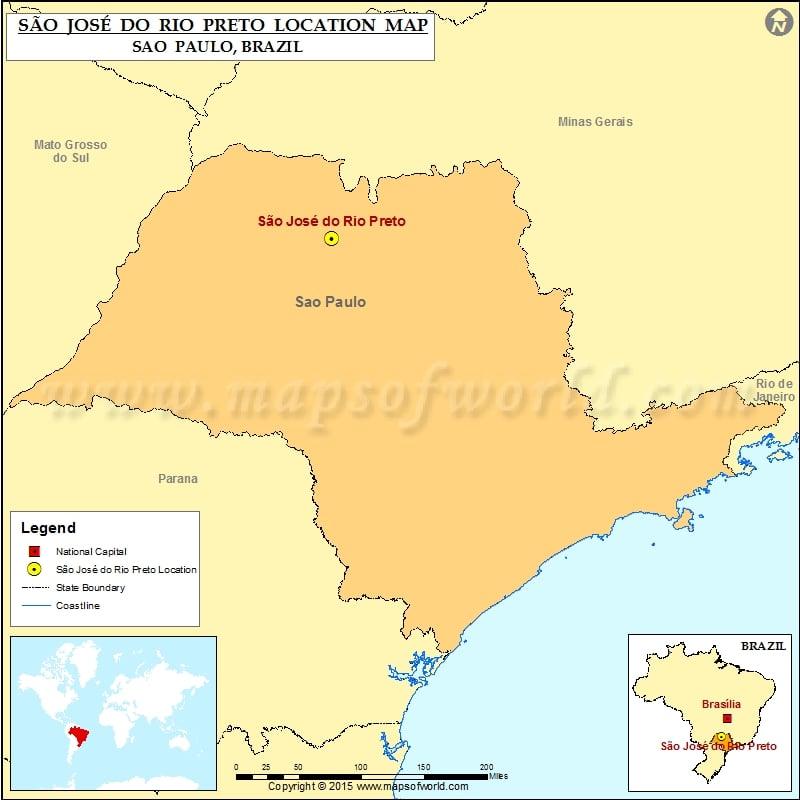 Where is Sao Jose do Rio Preto