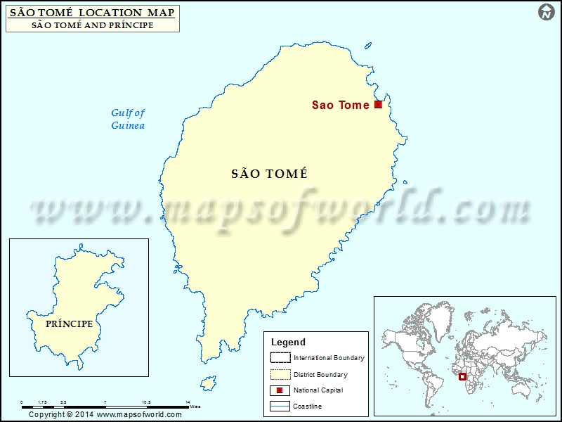 Where is Sao Tome