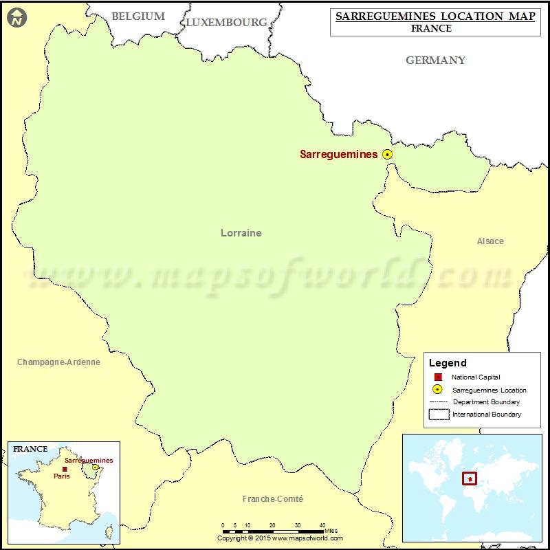 Where is Sarreguemines