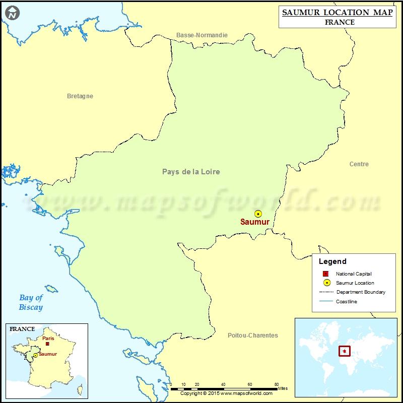 Where is Saumur