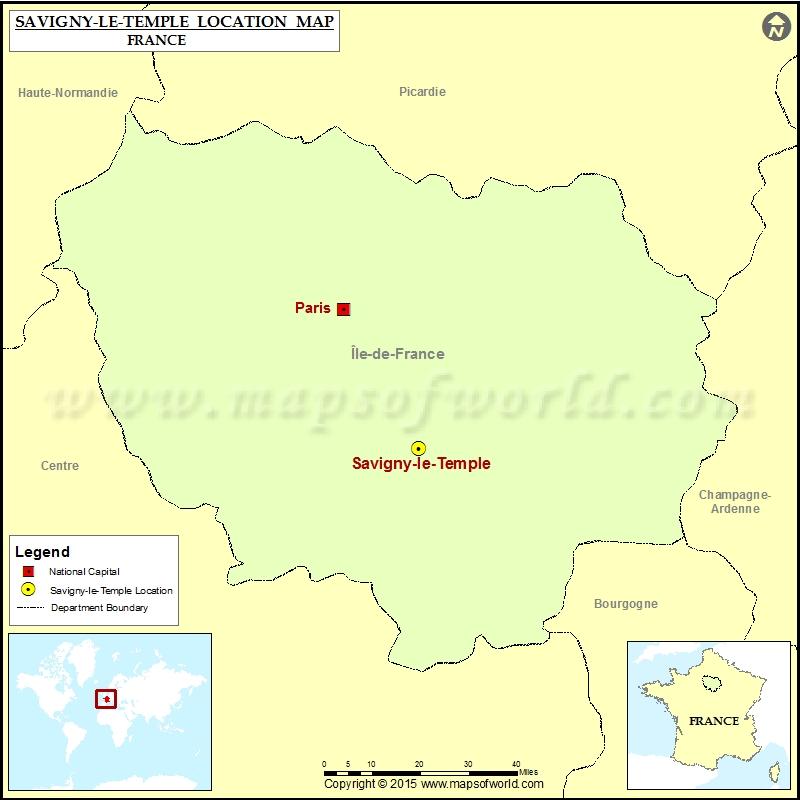 Where is Savigny-le-Temple