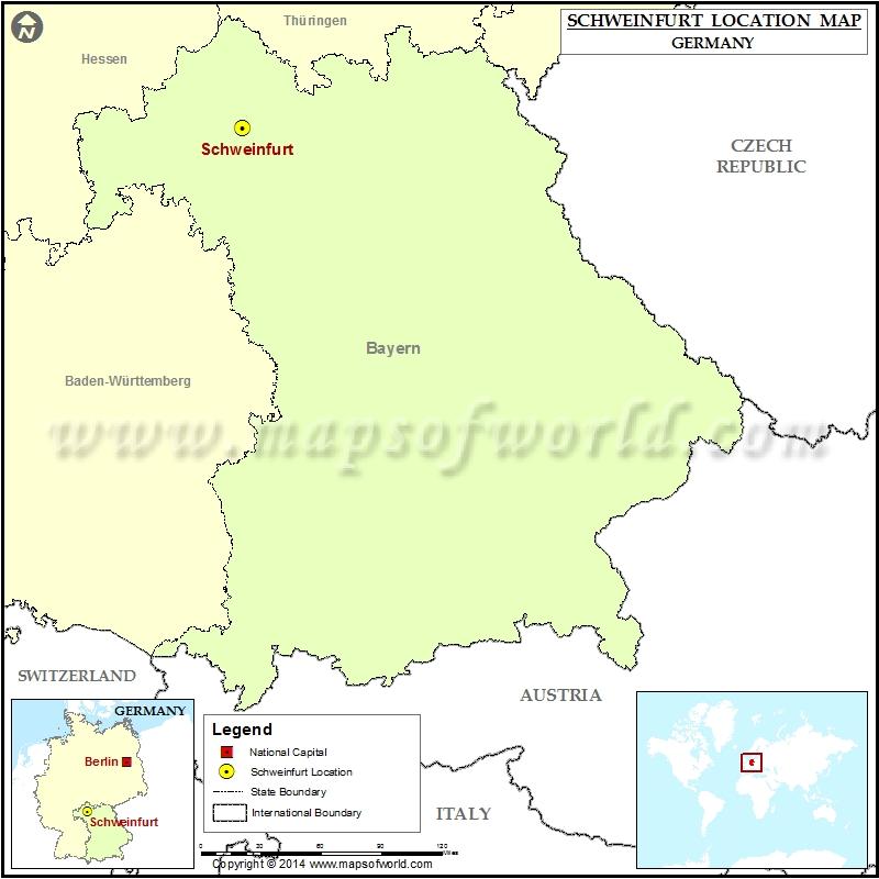 Where is Schweinfurt
