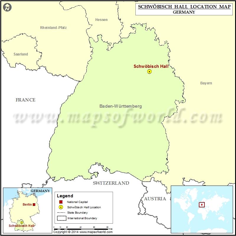 Where is Schwobisch Hall