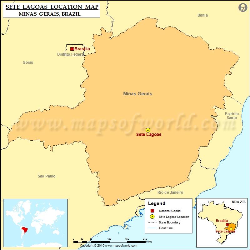 Where is Sete Lagoas