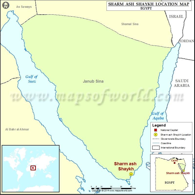 Where is Sharm ash Shaykh