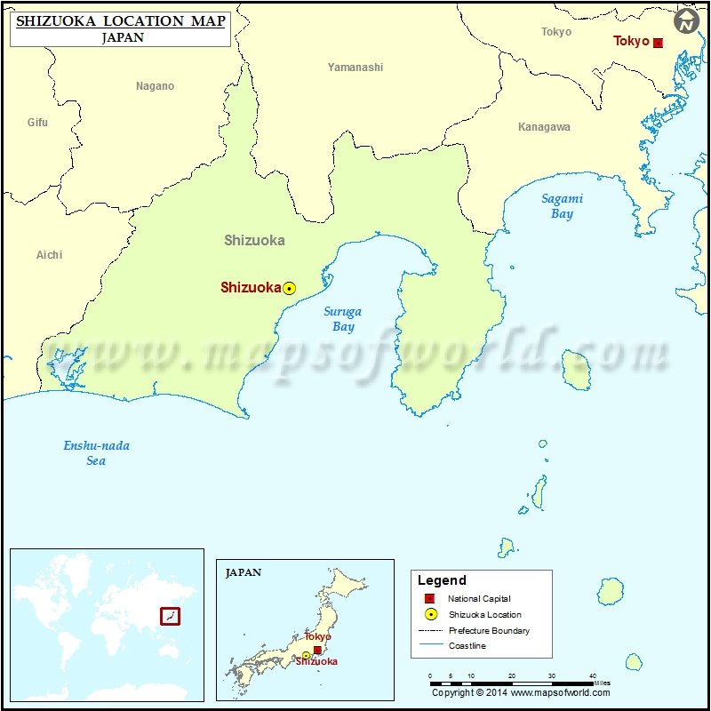 Where is Shizuoka