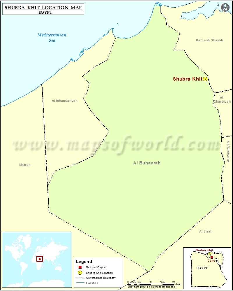 Where is Shubra Khit