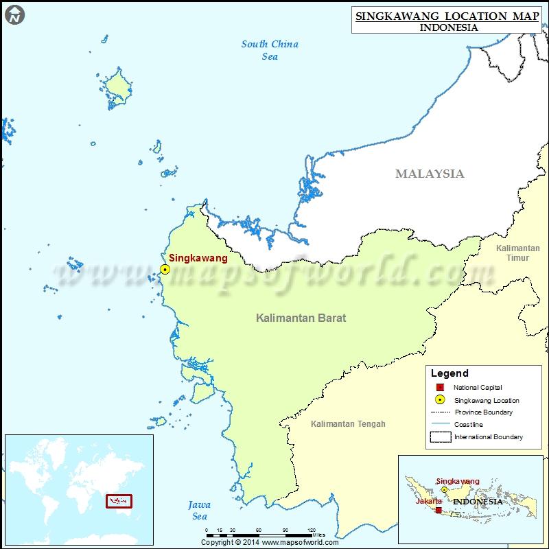 Where is Singkawang
