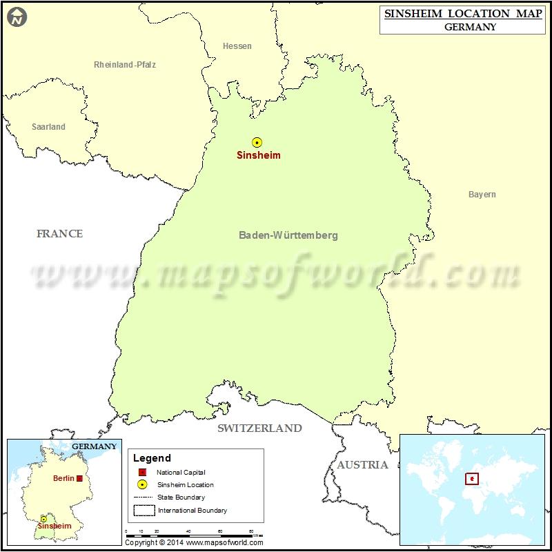 Where is Sinsheim