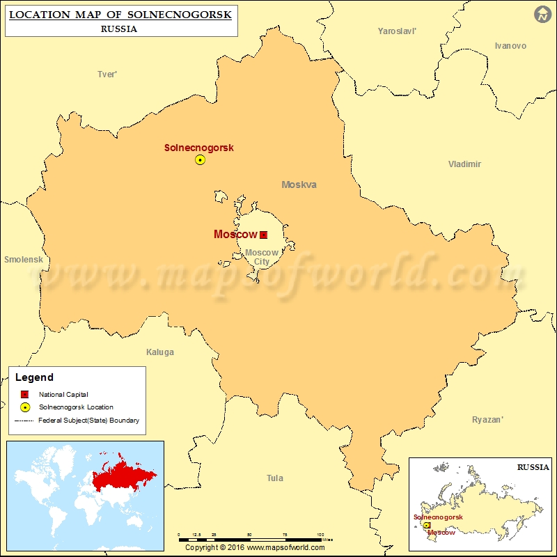 Where is Solnecnogorsk