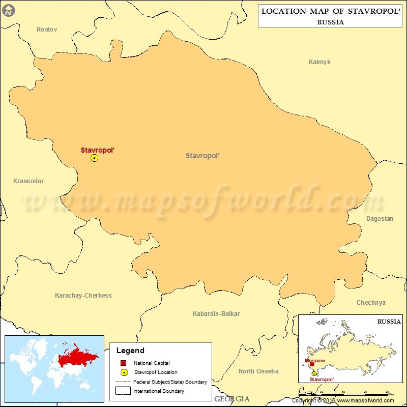 Where is Stavropol