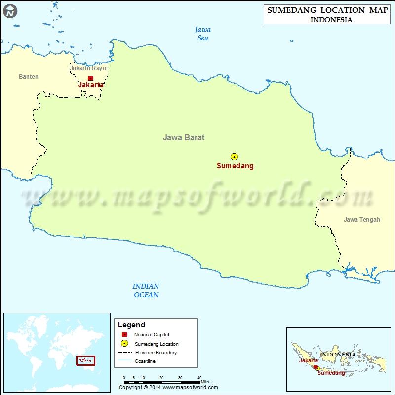 Where is Sumedang