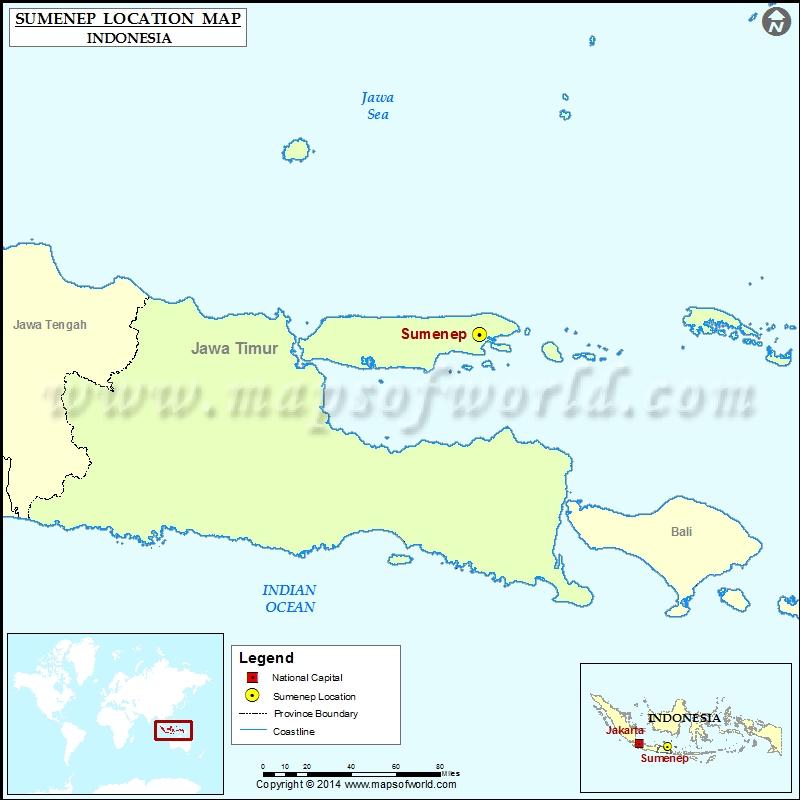 Where is Sumenep