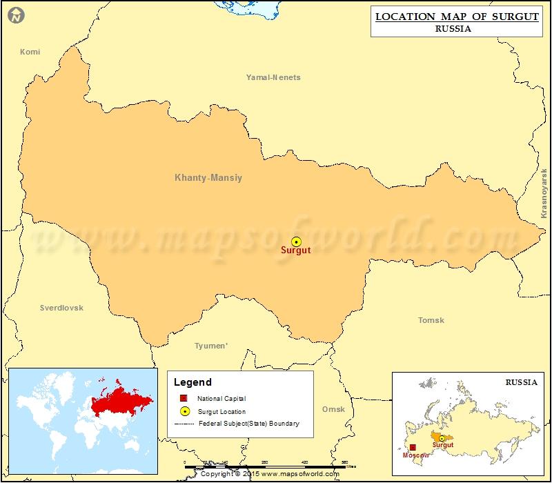 Where is Surgut