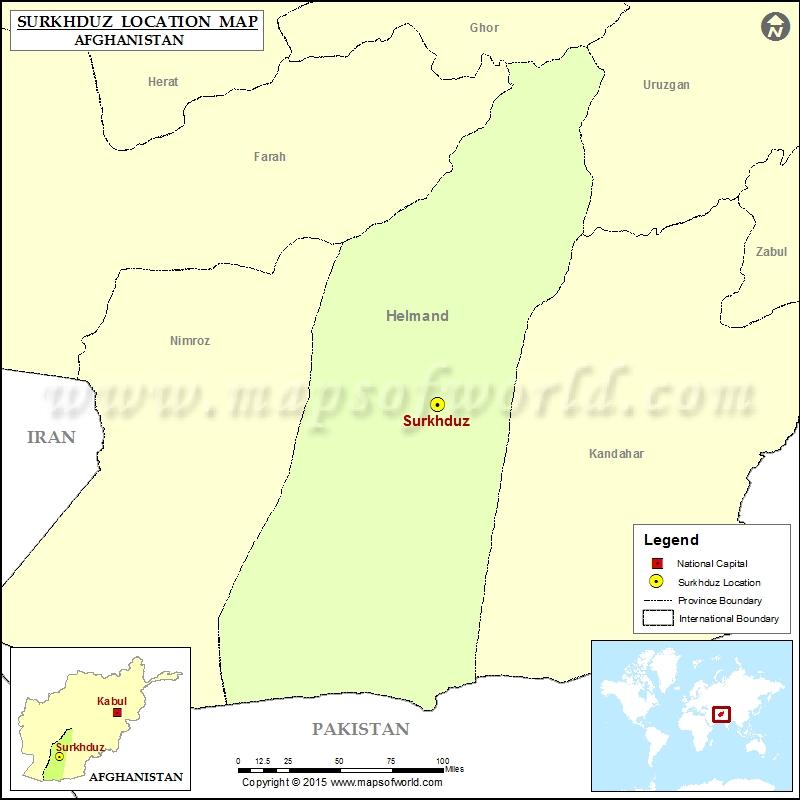 Where is Surkhduz