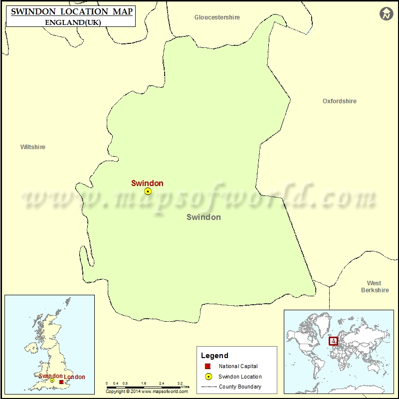 Map Of England Germany.Where Is Swindon Location Of Swindon In England Map