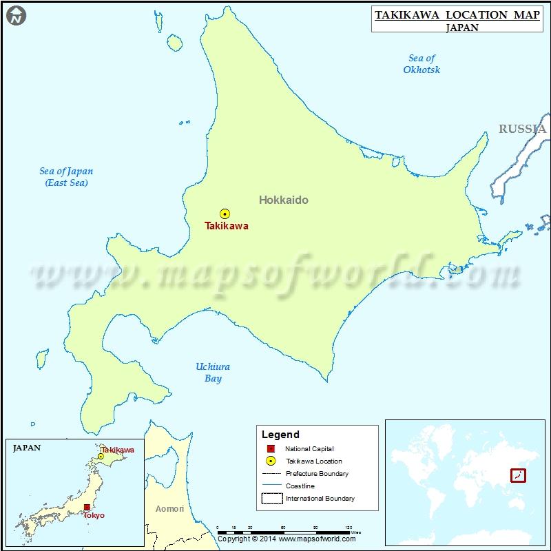 Where is Takikawa