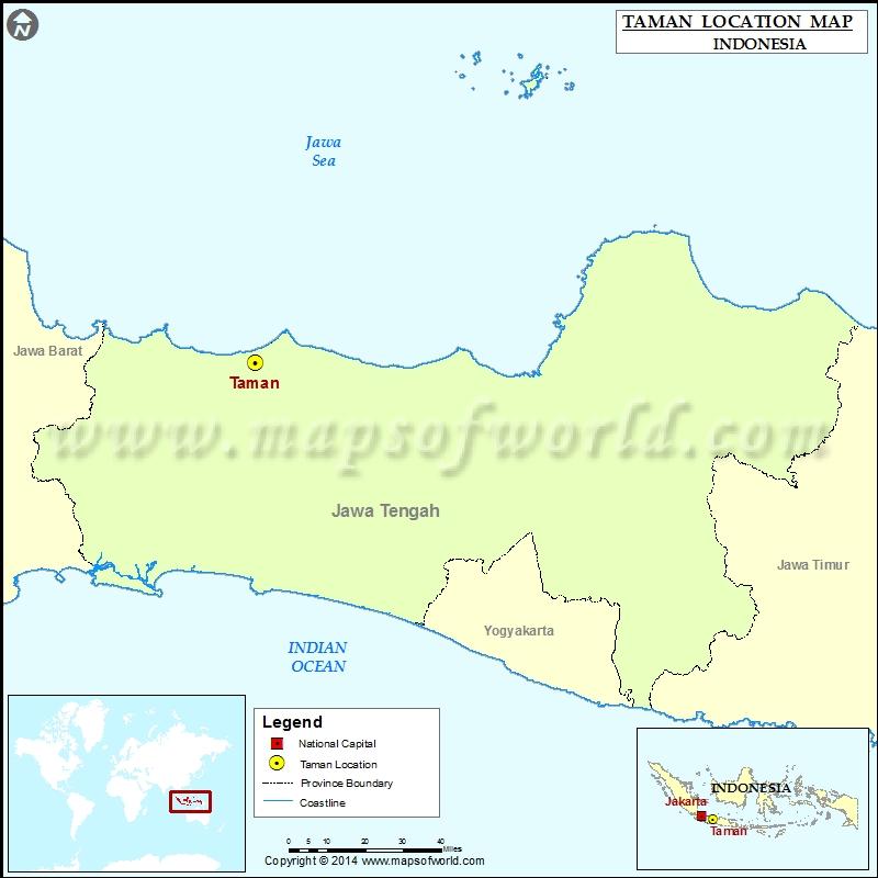Where is Taman
