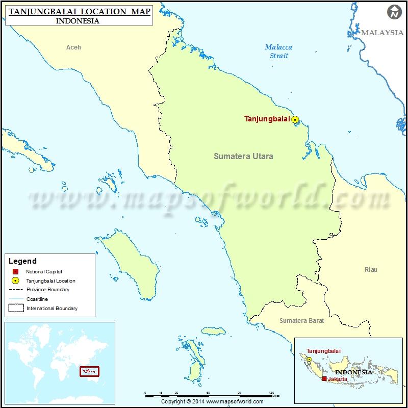 Where is Tanjungbalai