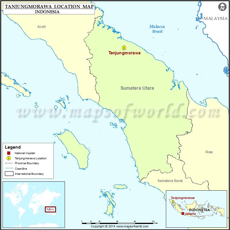 Where is Tanjungmorawa