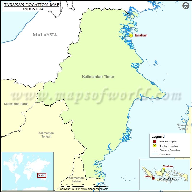Where is Tarakan