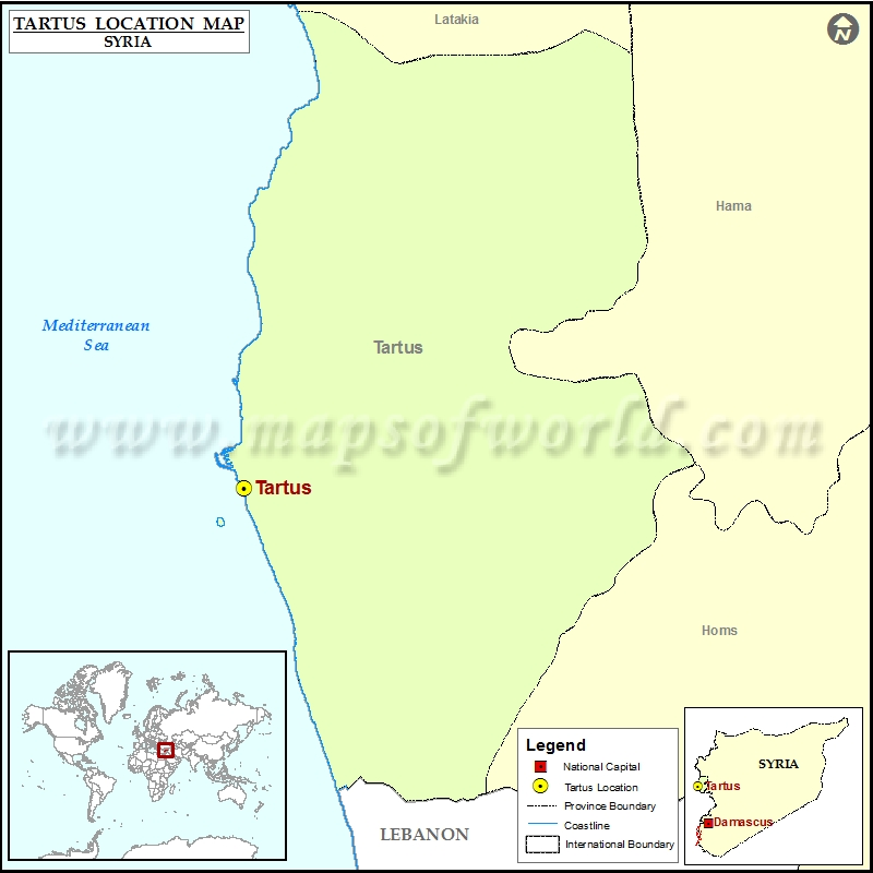Where is Tartus