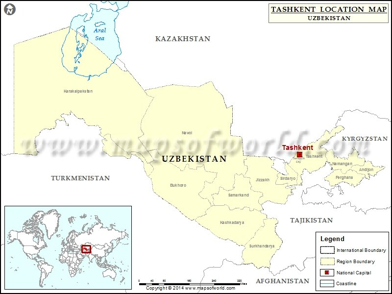 Where is Tashkent