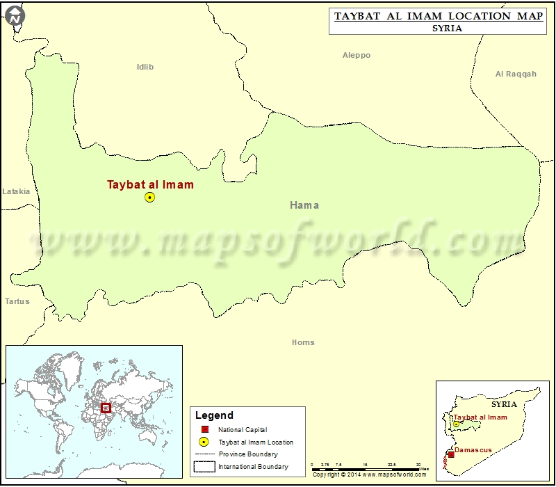 Where is Taybat al-Imam