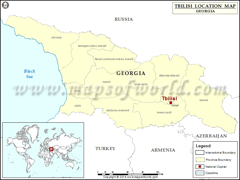 Where is Tbilisi