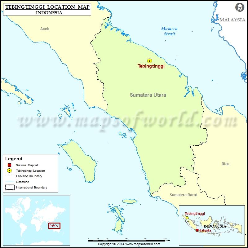 Where is Tebingtinggi