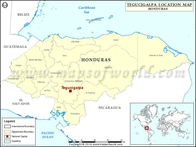 Where is tegucigalpa location of tegucigalpa in honduras map where is tegucigalpa gumiabroncs Choice Image