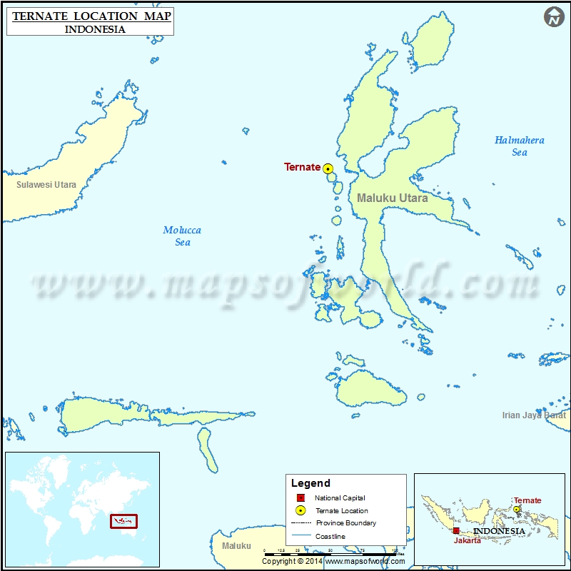 Where is Ternate