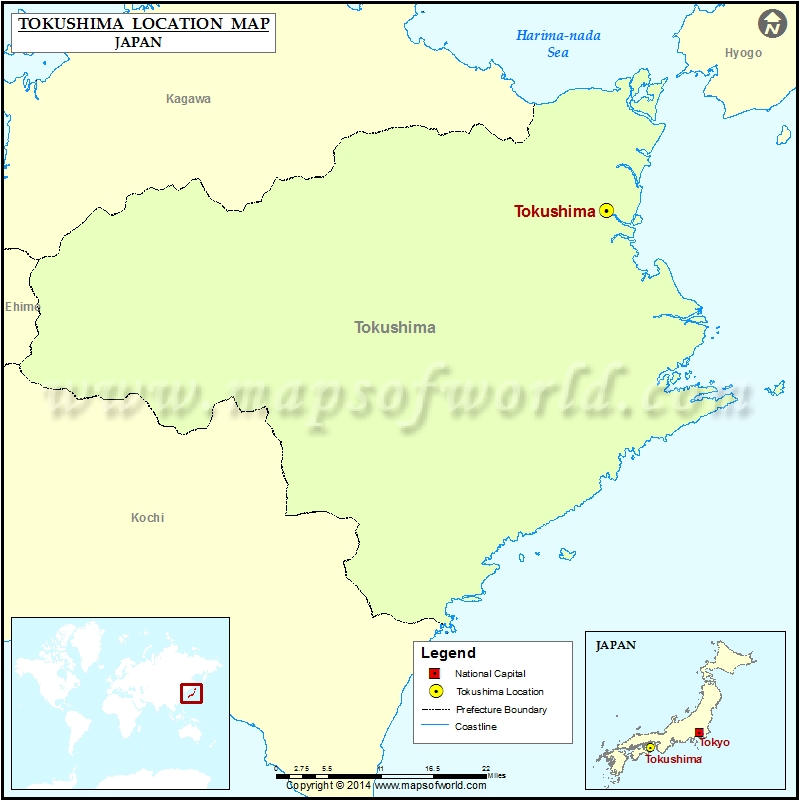 Where is Tokushima