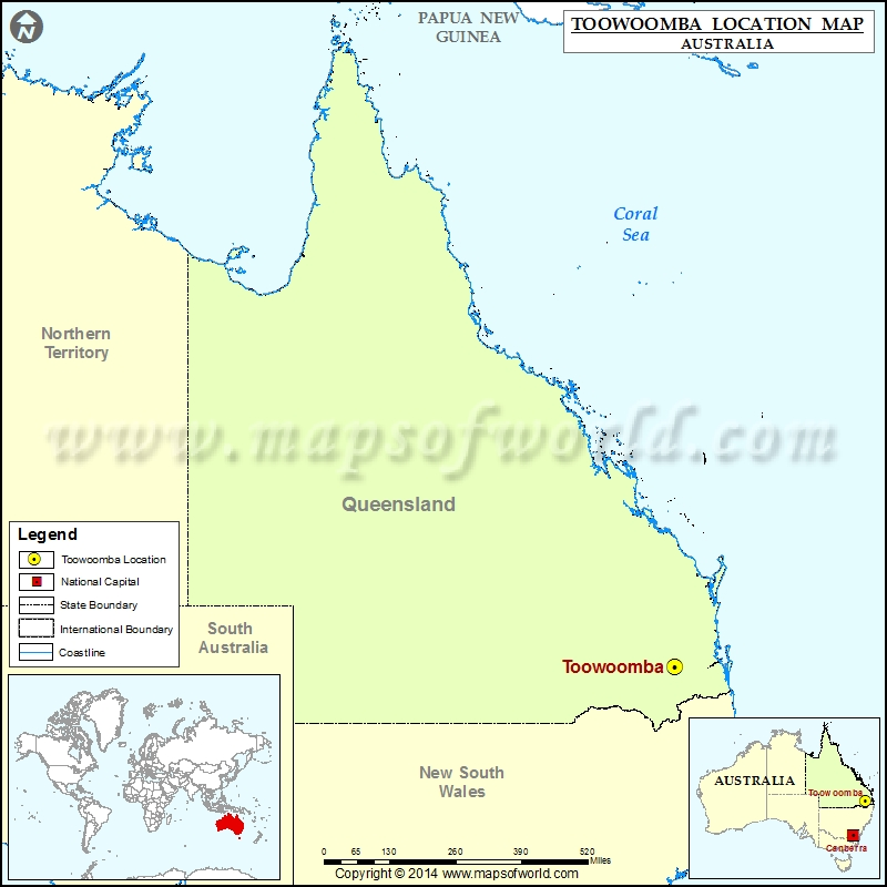 where is toowoomba location of toowoomba in australia map. Black Bedroom Furniture Sets. Home Design Ideas